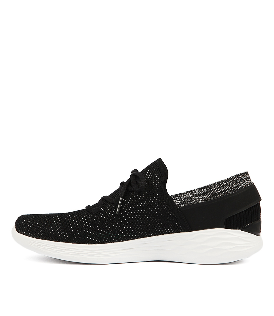 Buy Skechers 14960 You Spirit Black White Sneakers online with free shipping