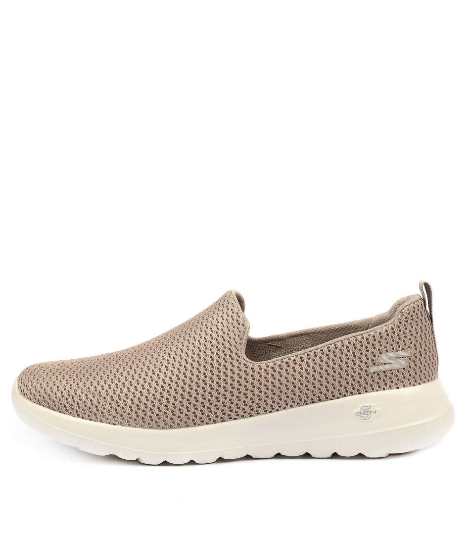 Buy Skechers 15600 Go Walk Joy Taupe Sneakers online with free shipping