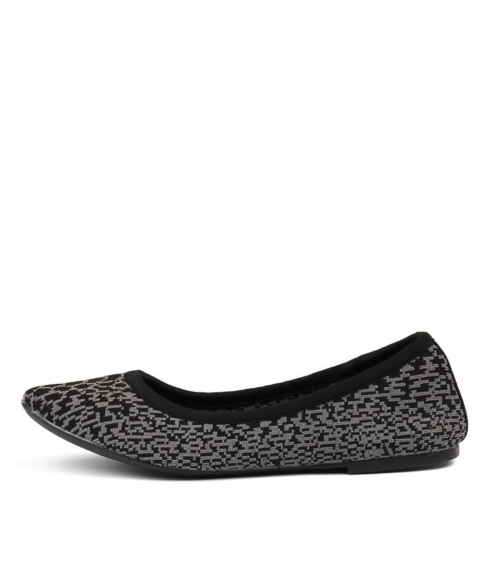 Buy Skechers 48488 Cleo Blitz Black Flats online with free shipping