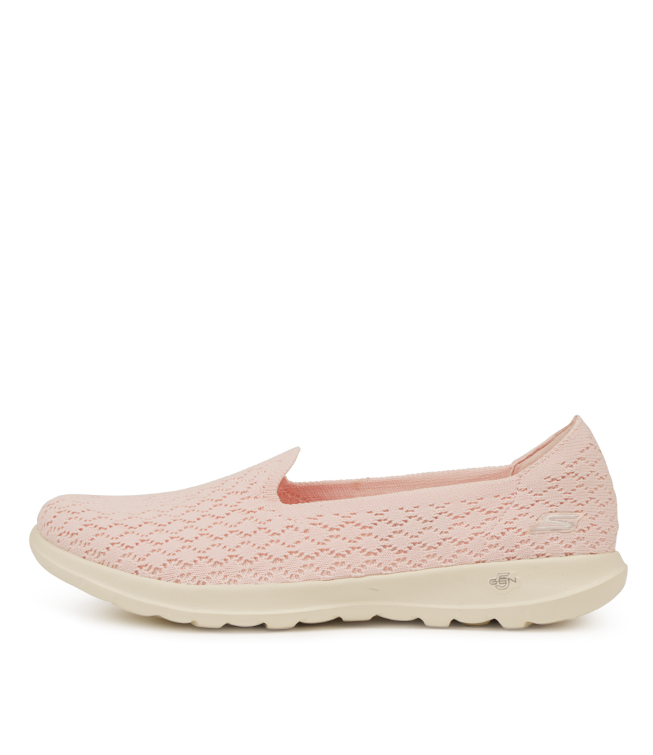 Buy Skechers Go Walk Lite Daisy Pink Sneakers online with free shipping