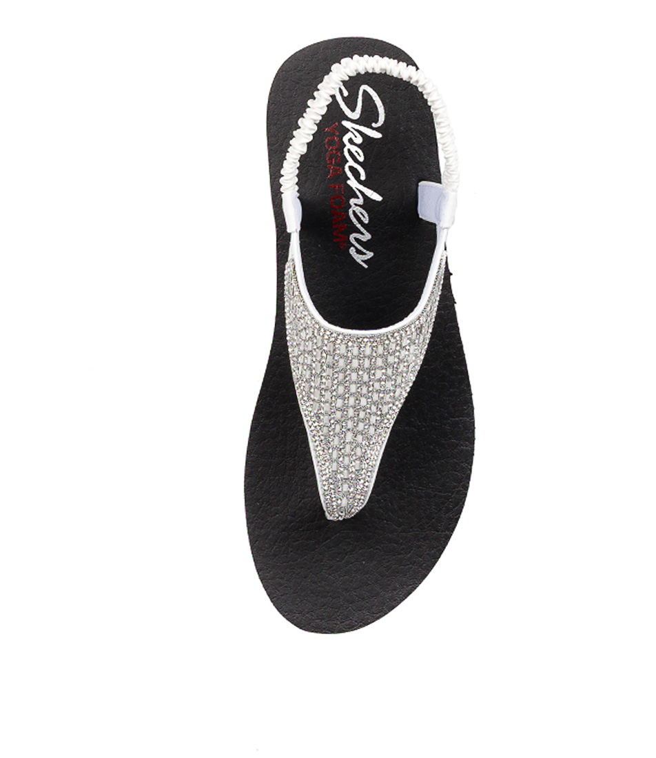 5f72be7a7045 New Skechers Meditation Rock Crown Womens Shoes Casual Sandals ...