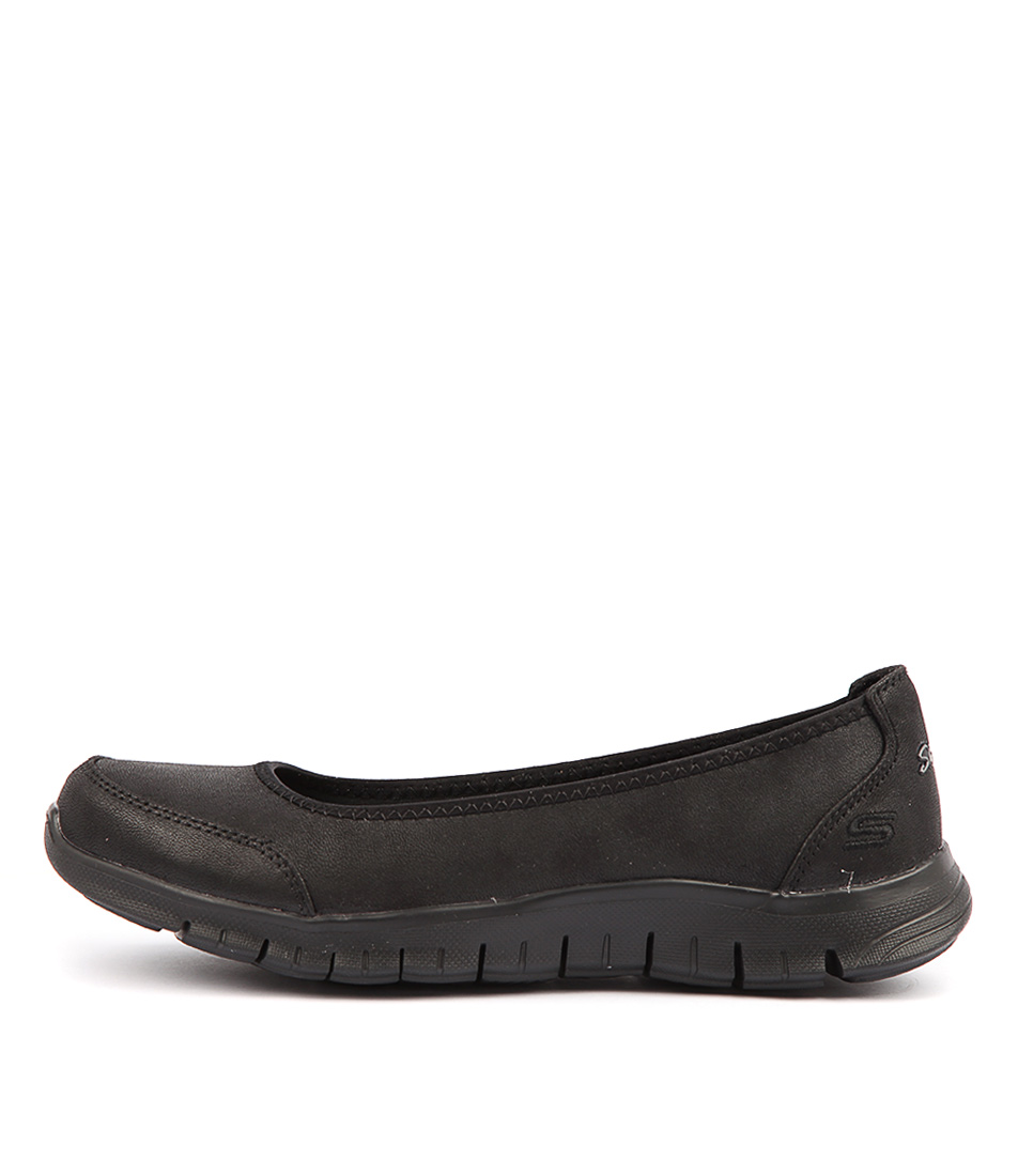 Buy Skechers Ez Flex Renew Black Flats online with free shipping