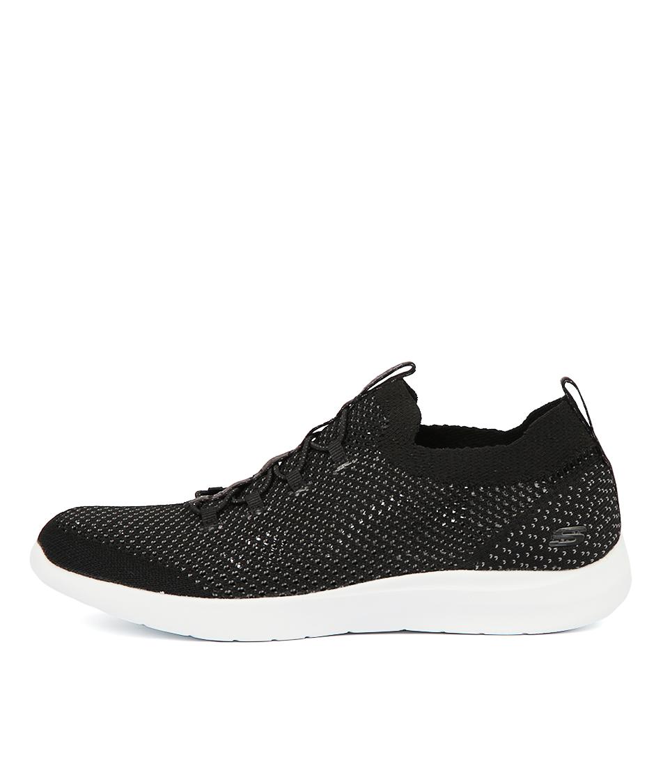 Buy Skechers 12881 Studio Comfort Black Sneakers online with free shipping