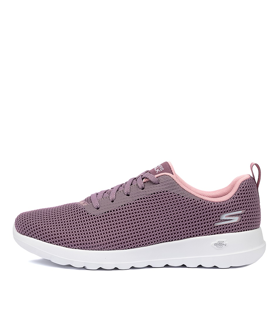 Buy Skechers 15641 Go Walk Joy Mauve Sneakers online with free shipping