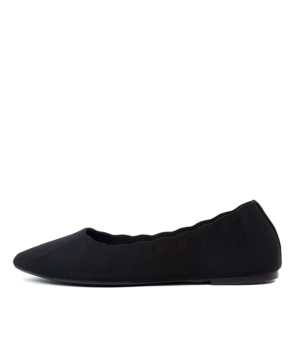 Buy Skechers 48885 Cleo Bewitch Black Flats online with free shipping