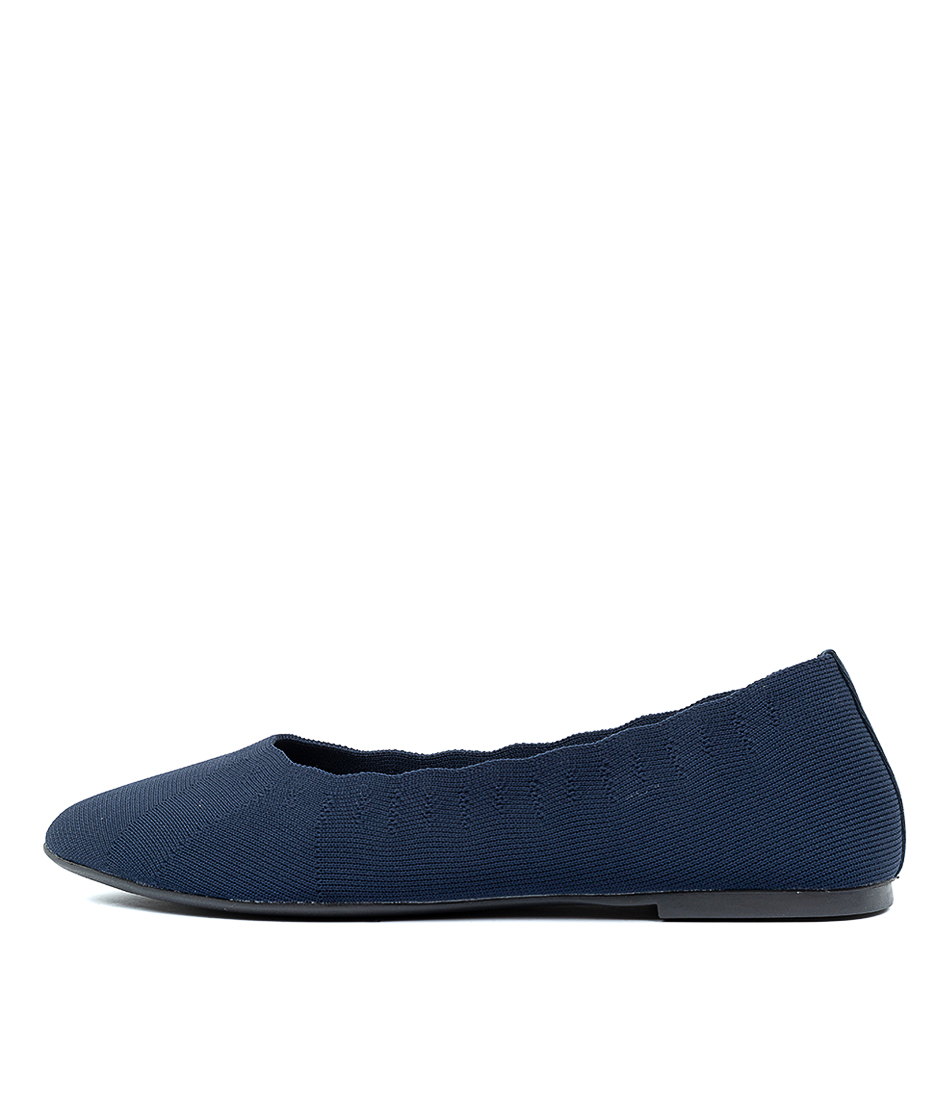 Buy Skechers 48885 Cleo Bewitch Navy Flats online with free shipping