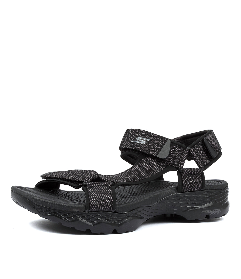 Details about New Skechers Go Walk Outdoors Nature Mens Shoes Casual Sandals Sandals Flat