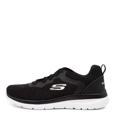 Buy Skechers 12607 Bountiful Quick Path Sk Black White Sneakers online with free shipping