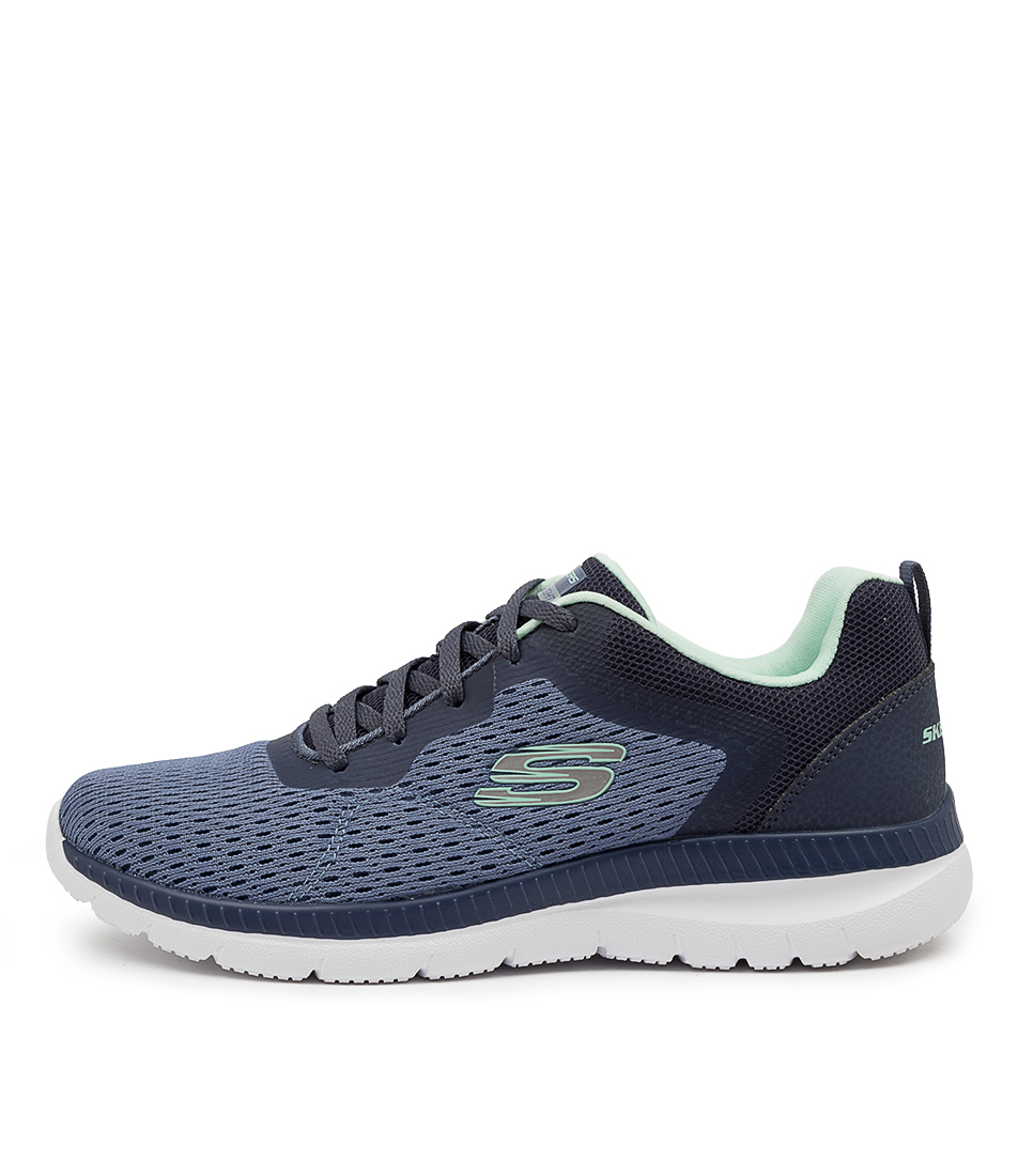Buy Skechers 12607 Bountiful Quick Path Sk Slate Sneakers online with free shipping