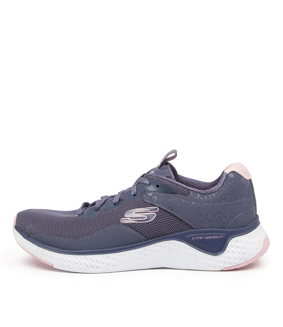 Buy Skechers 13327 Solar Fuse Radiant Sk Slate Sneakers online with free shipping