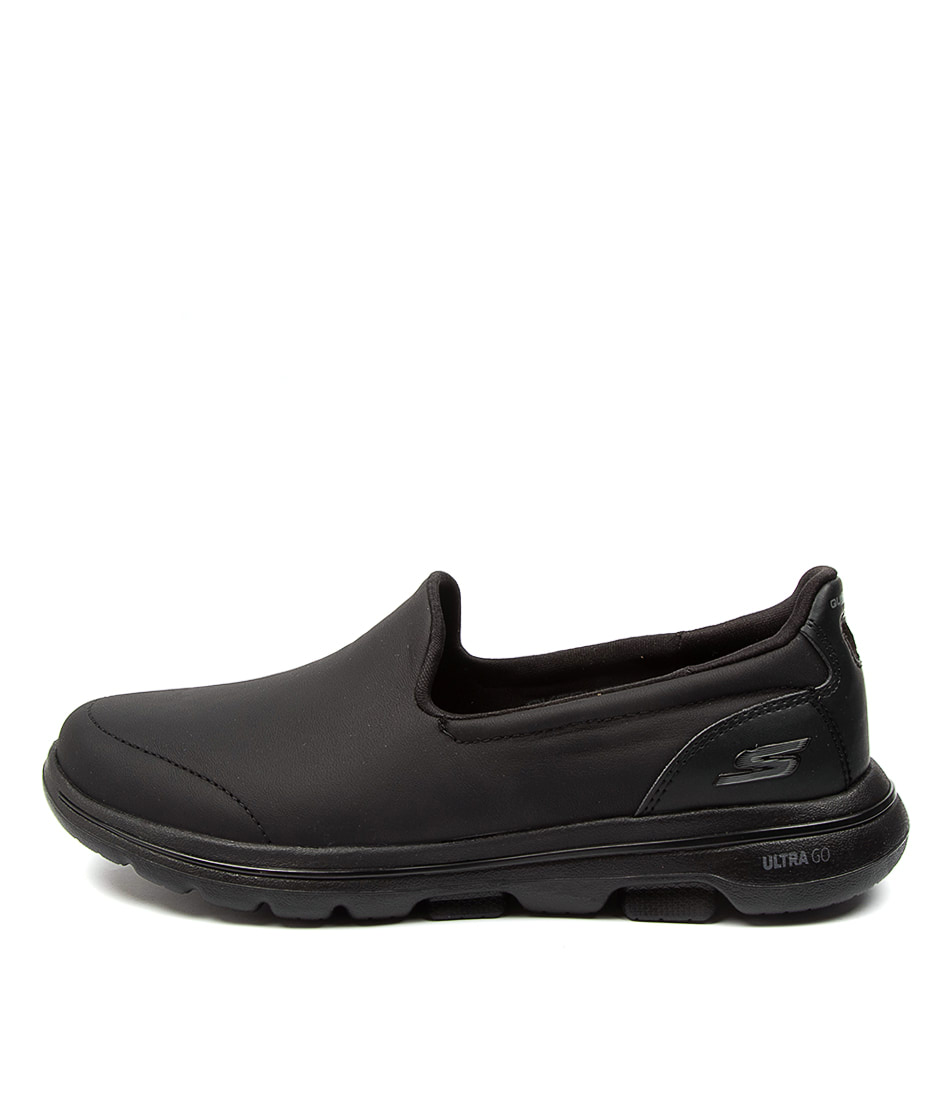 Buy Skechers 15923 Go Walk 5 Polished Sk Black Black Sneakers online with free shipping
