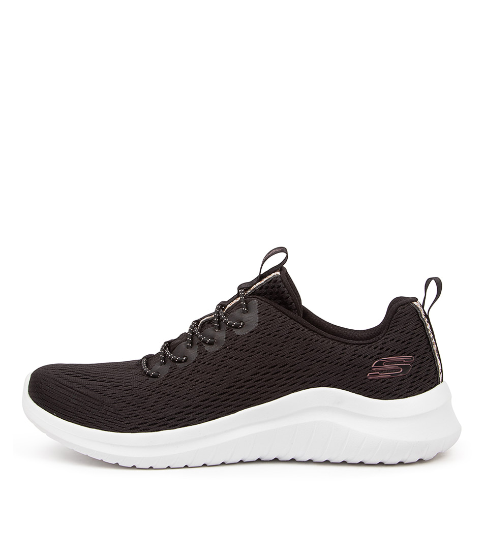 Buy Skechers 13350 Ultra Flex 2.0 Lite G Sk Black White Sneakers online with free shipping