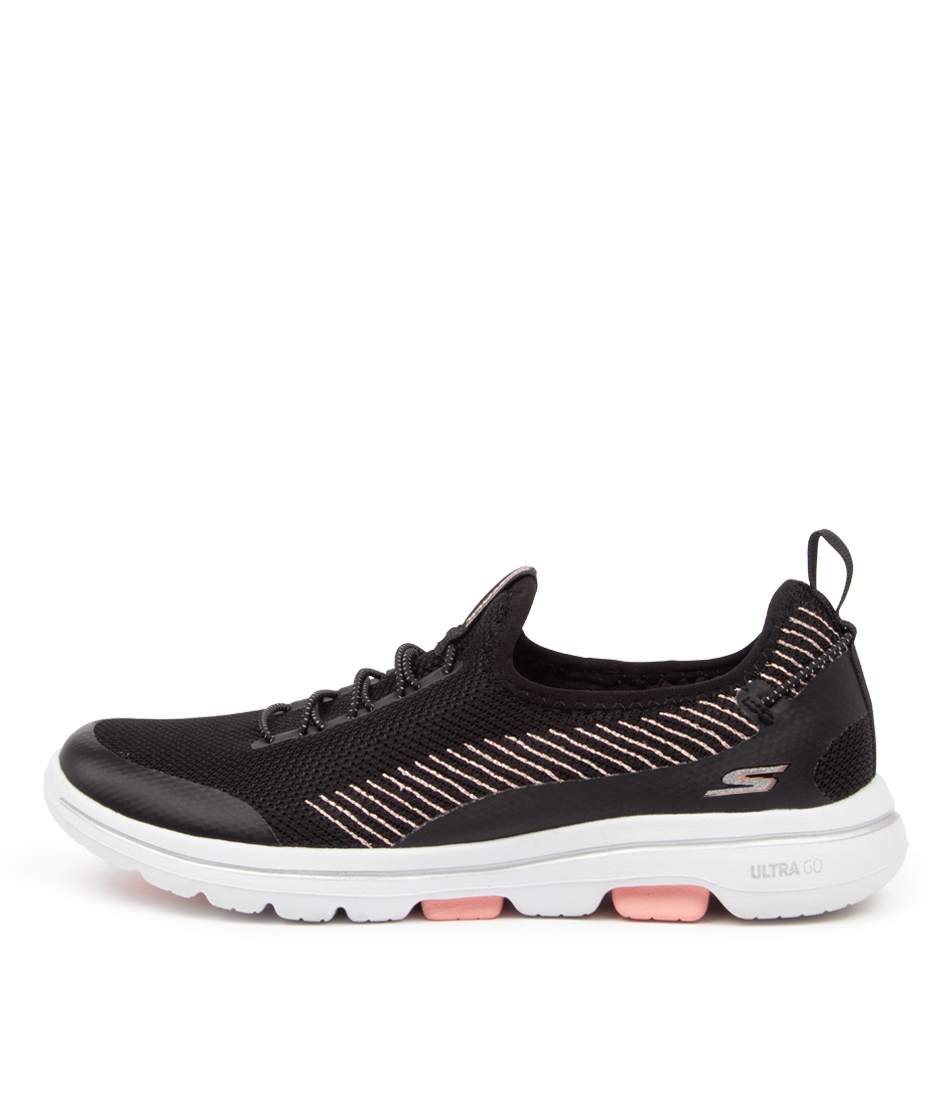 Buy Skechers 15918 Go Walk 5 Prolific Sk Black Pink Sneakers online with free shipping