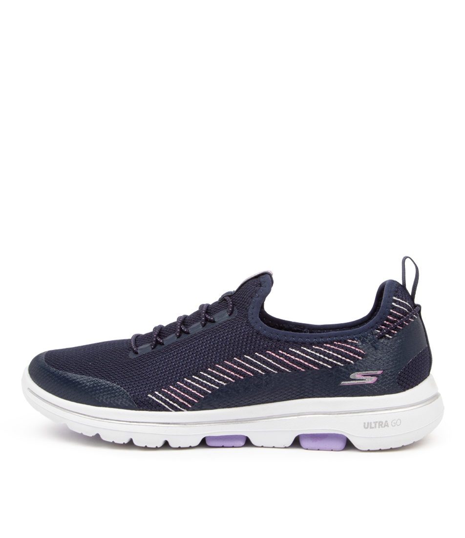 Buy Skechers 15918 Go Walk 5 Prolific Sk Navy Lavender Sneakers online with free shipping
