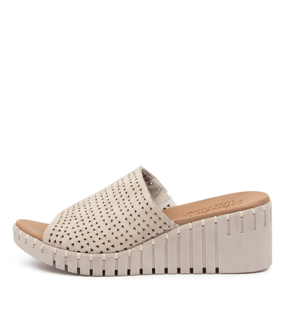 Buy Skechers 41231 Pier Ave Urban Escape Sk Taupe Heeled Sandals online with free shipping