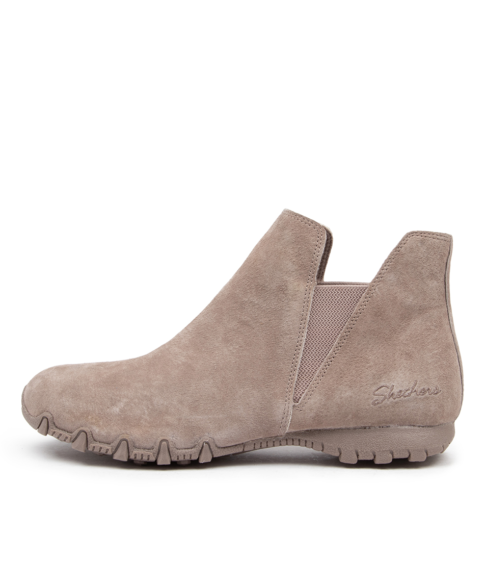 Buy Skechers 49602 Bikers Mc Bellore Sk Taupe Ankle Boots online with free shipping