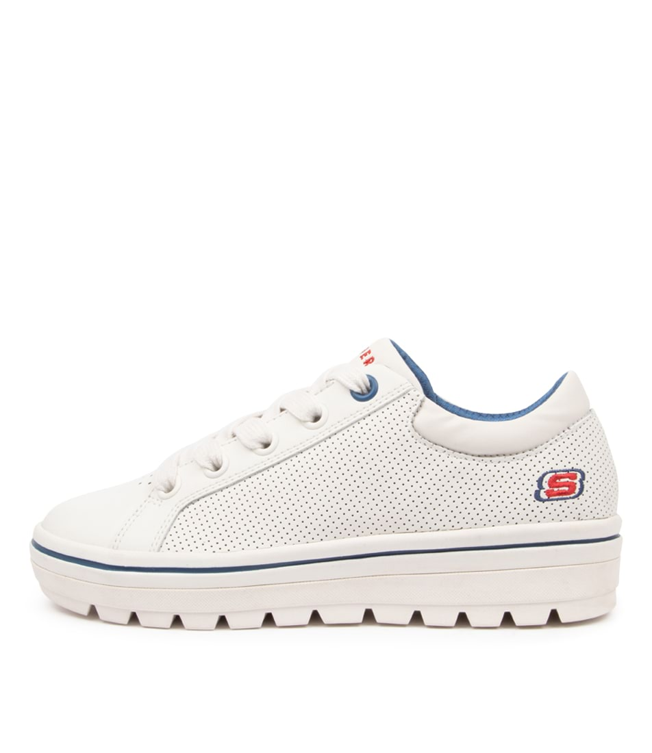 Buy Skechers 74104 Street Cleats 2 Fresh Sk White Sneakers online with free shipping