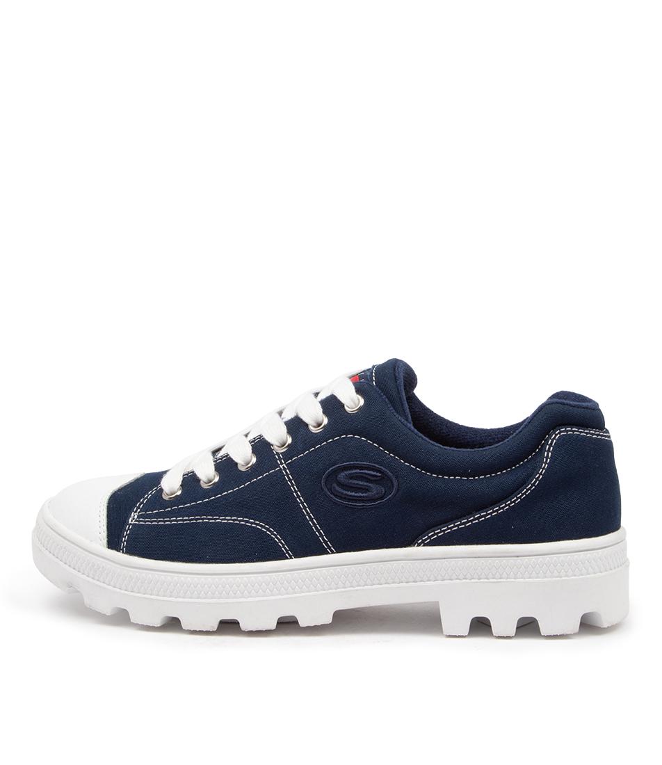 Buy Skechers 74370 Roadies True Roots Sk Navy Sneakers online with free shipping