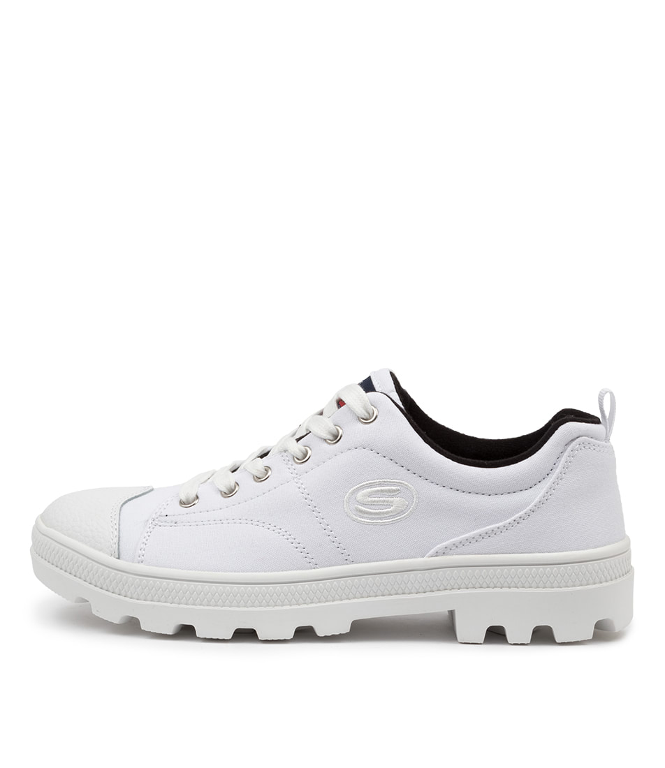 Buy Skechers 74370 Roadies True Roots Sk White Sneakers online with free shipping