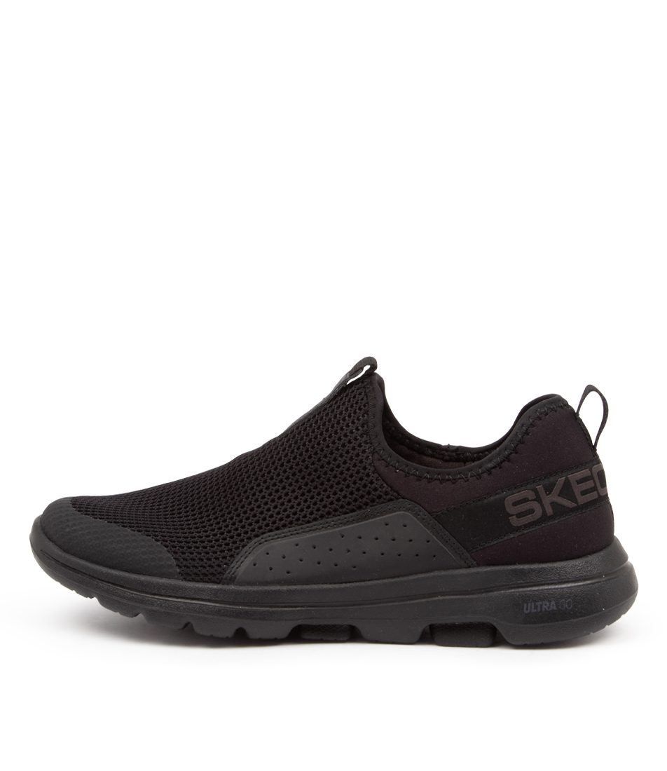 Buy Skechers 124013 Go Walk 5 Sovereign Sk Black Sneakers online with free shipping