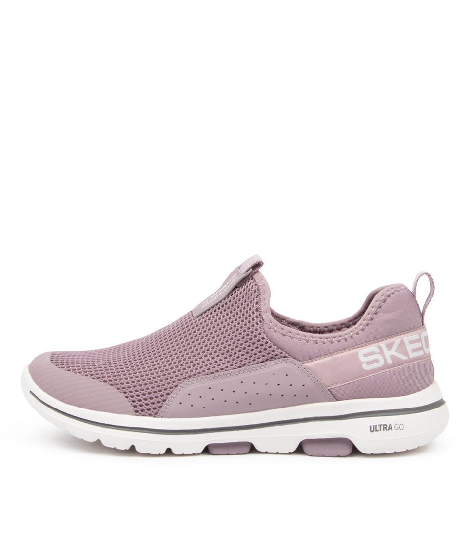 Buy Skechers 124013 Go Walk 5 Sovereign Sk Mauve Sneakers online with free shipping