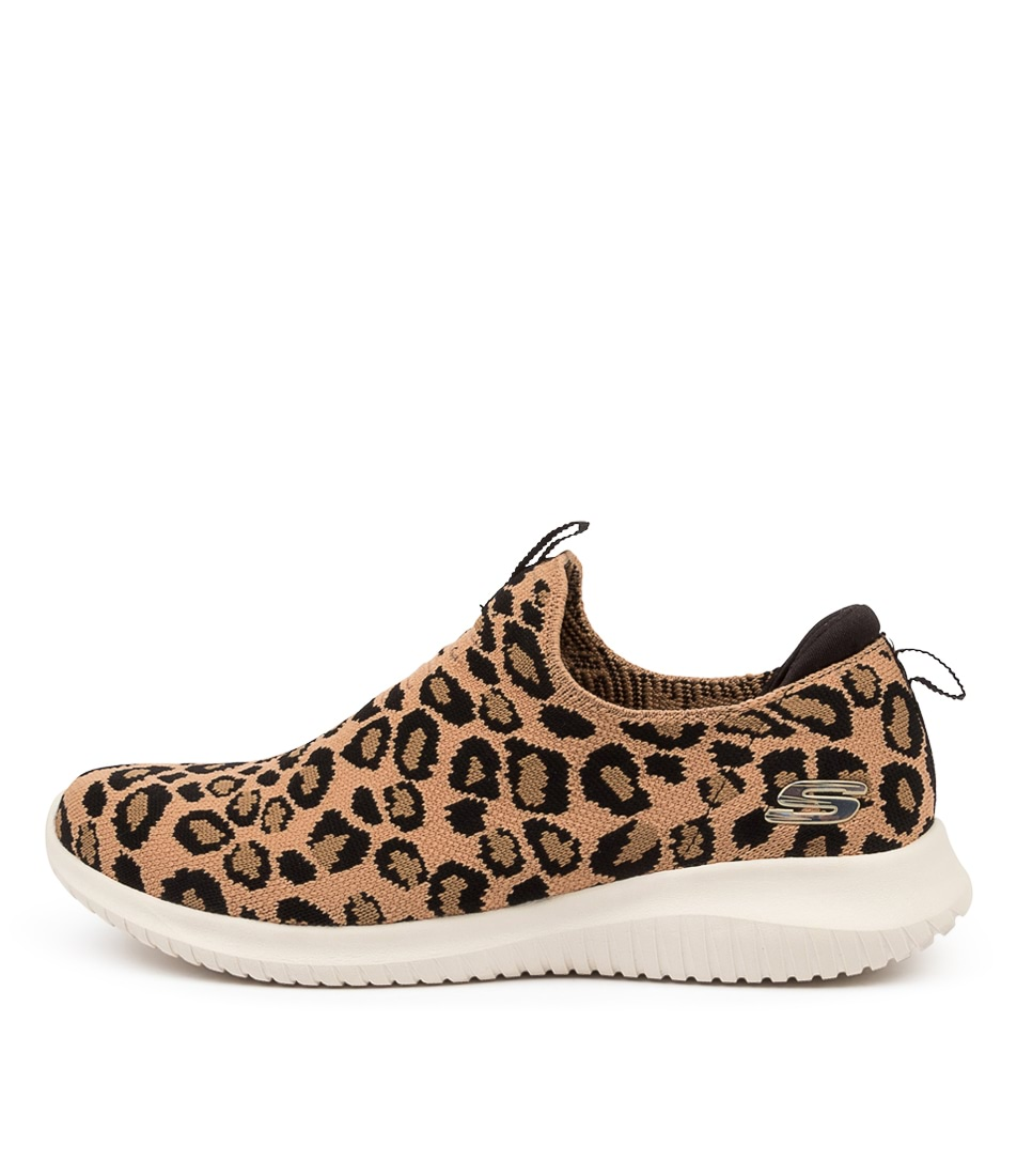 Buy Skechers 13127 Ultra Flex Wild Exped Sk Leopard Sneakers online with free shipping