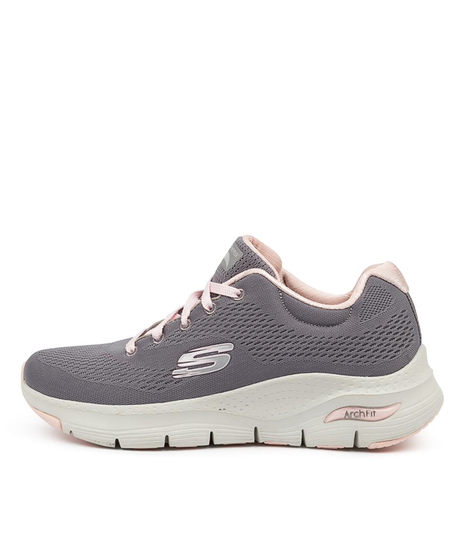 Buy Skechers 149057 Arch Fit Sunny Out Sk Grey Pink Sneakers online with free shipping