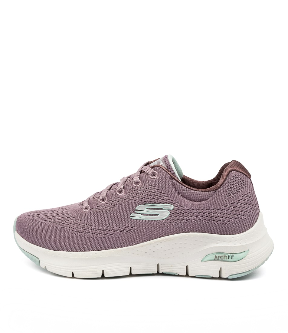 Buy Skechers 149057 Arch Fit Sunny Out Sk Lavender Sneakers online with free shipping