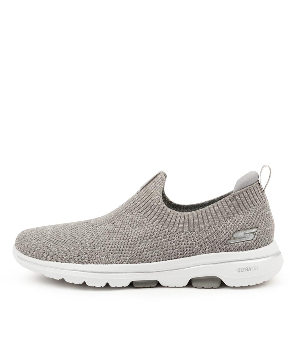 Buy Skechers 15952 Go Walk 5 Trendy Sk Grey Sneakers online with free shipping