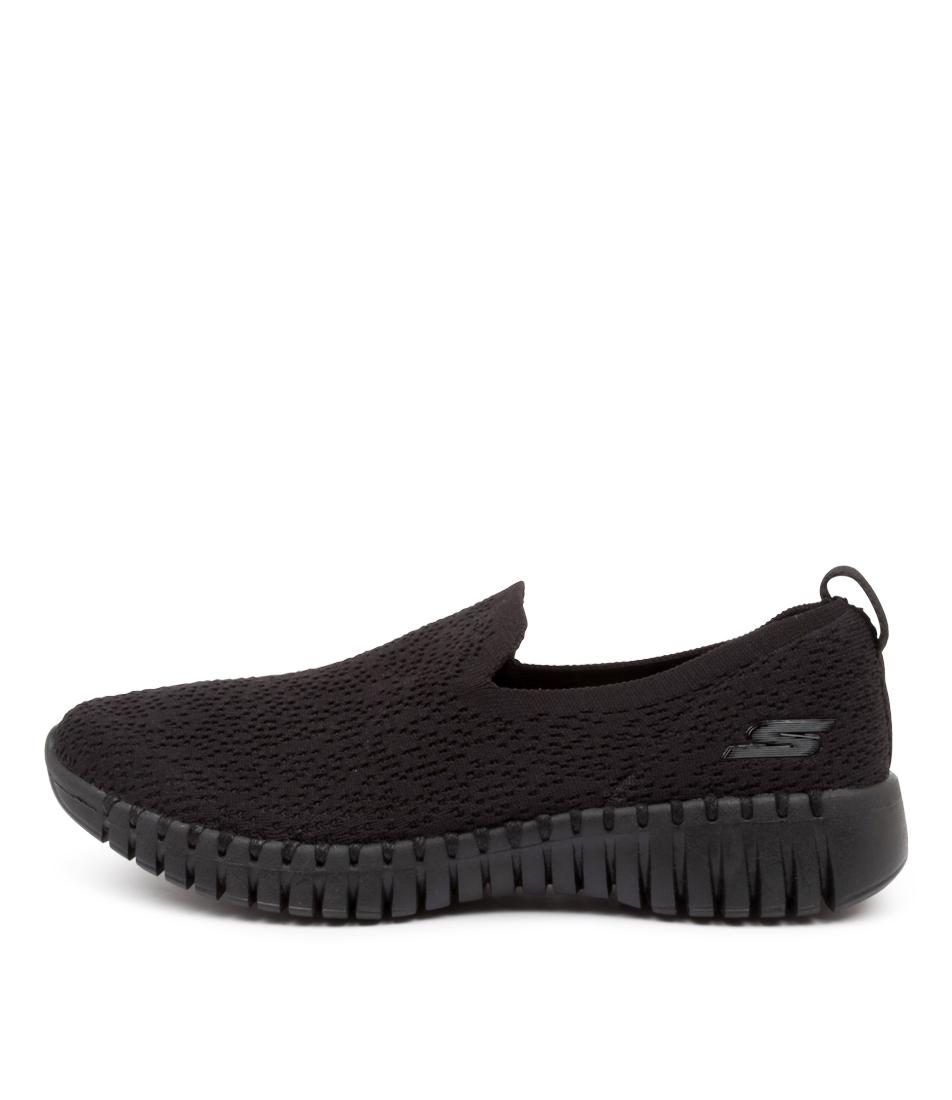 Buy Skechers 16701 Go Walk Smart Glory Sk Black Sneakers online with free shipping