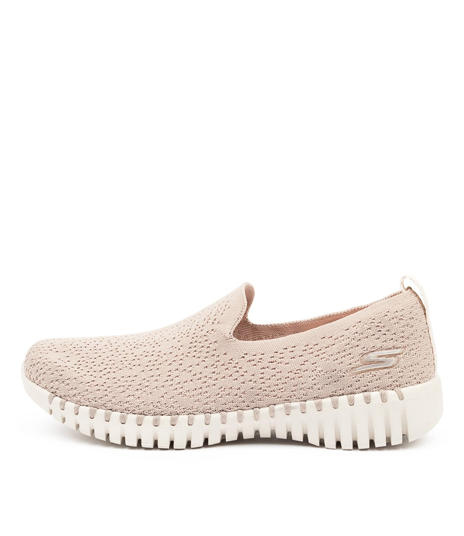 Buy Skechers 16701 Go Walk Smart Glory Sk Taupe Sneakers online with free shipping