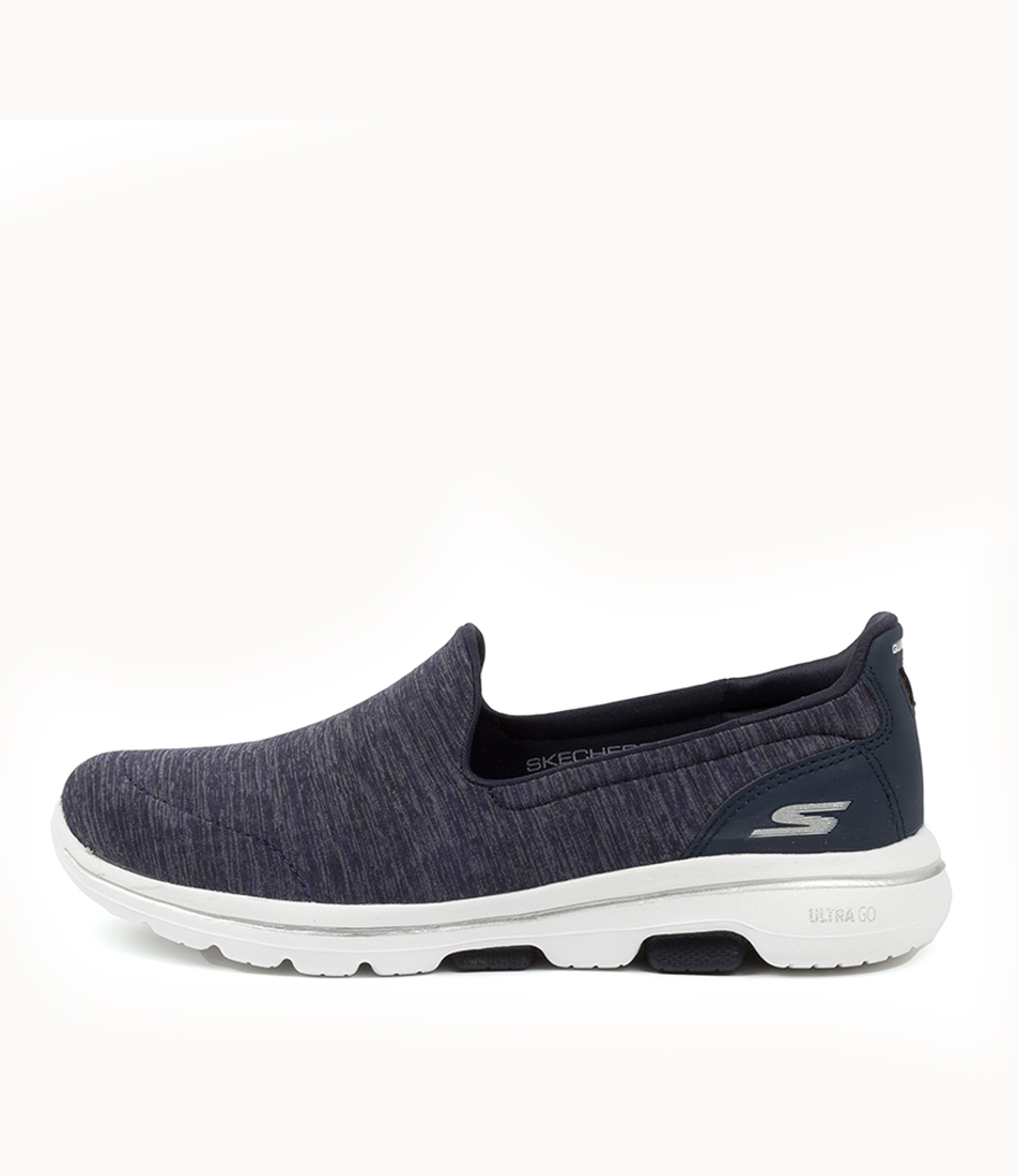 Buy Skechers 15903 Go Walk 5 Honour Sk Navy White Sneakers online with free shipping