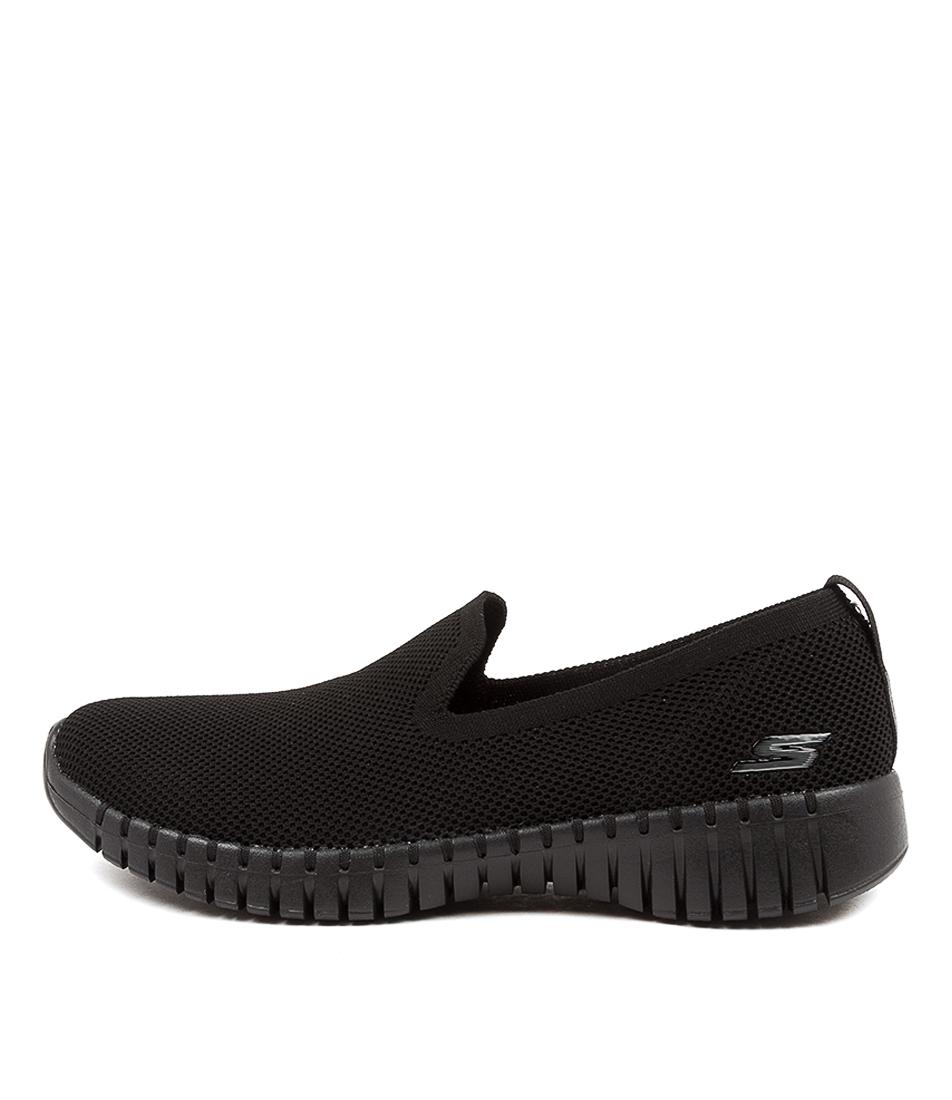Buy Skechers 124296 Go Walk Smart B Sk Black Sneakers online with free shipping