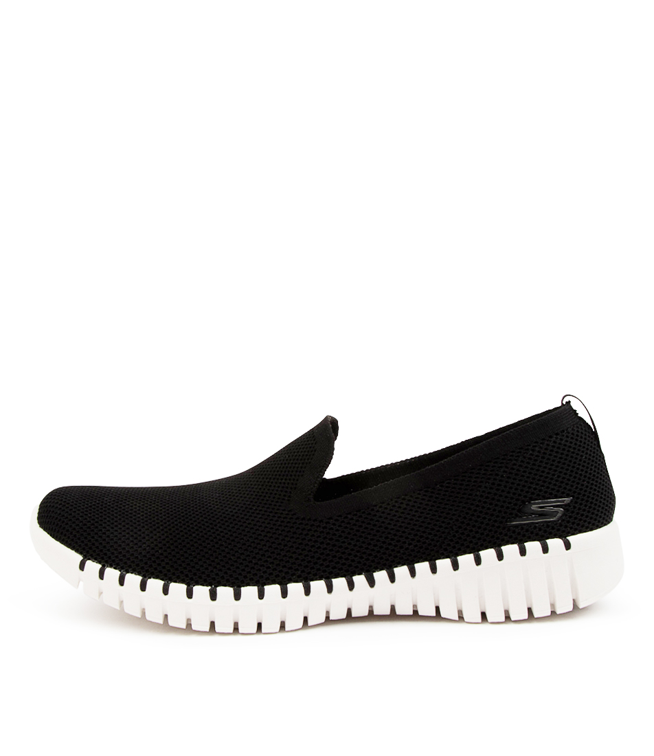 Buy Skechers 124296 Go Walk Smart B Sk Black White Sneakers online with free shipping