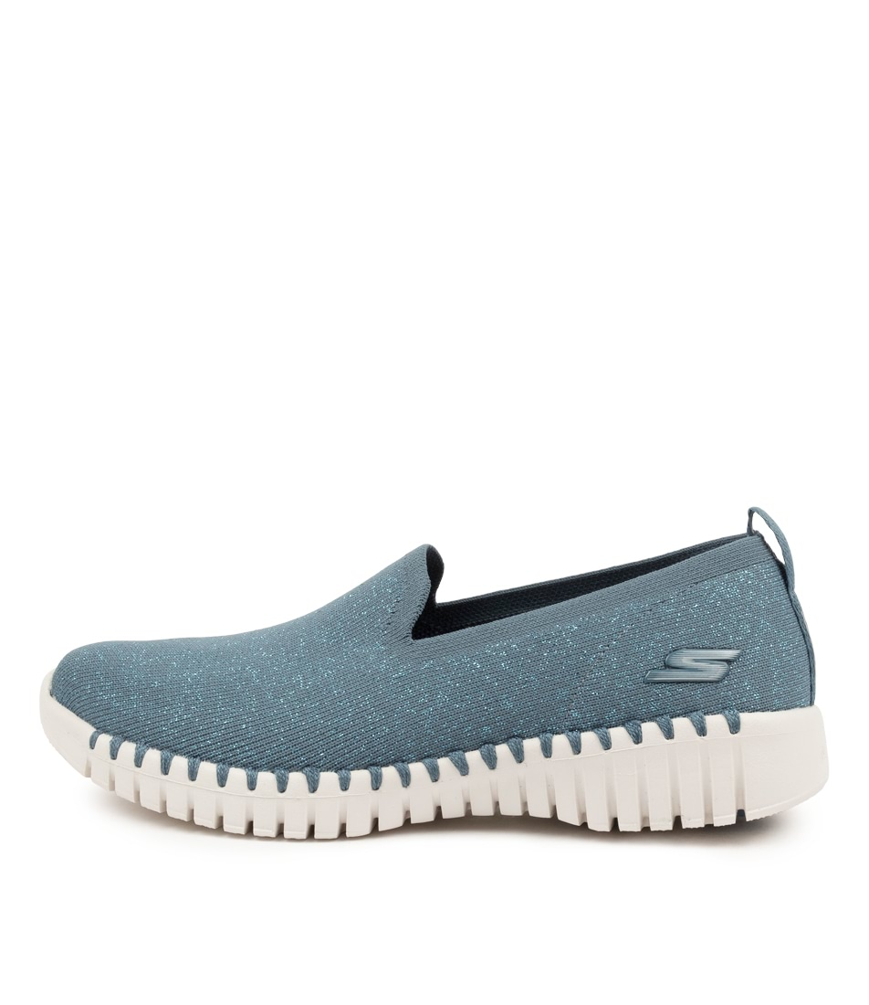 Buy Skechers 124297 Go Walk Smart Oracle Sk Blue Sneakers online with free shipping