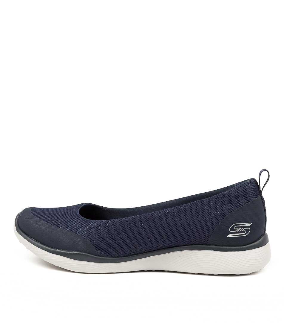 Buy Skechers 104081 Microburst 2.0 S S Sk Navy Flats online with free shipping