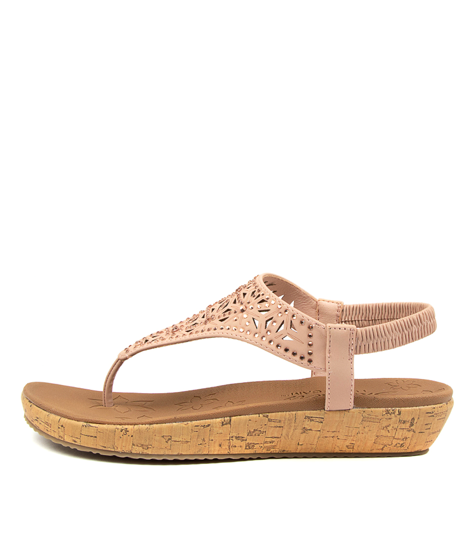 Buy Skechers 32832 Brie Dally Sk Pink Heeled Sandals online with free shipping