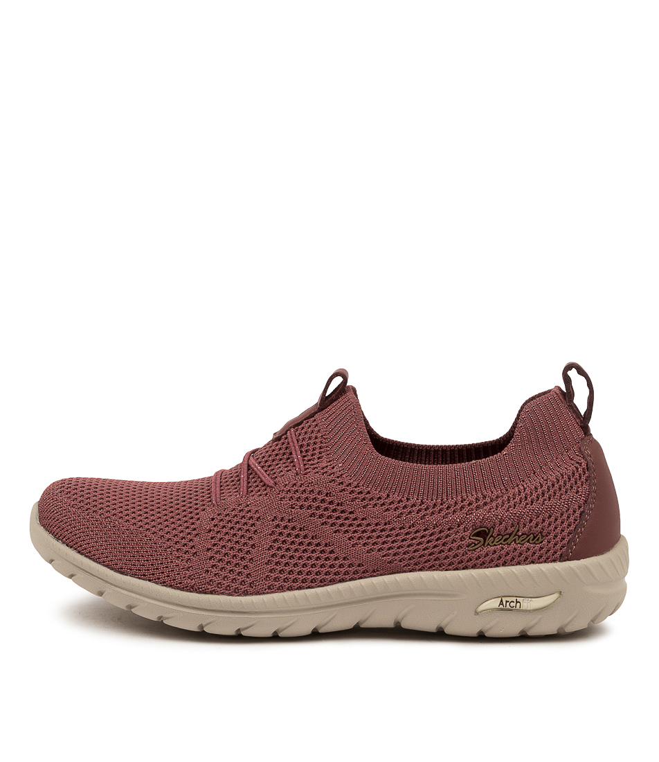 Buy Skechers 100285 Arch Fit Flex Sk Rose Sneakers online with free shipping