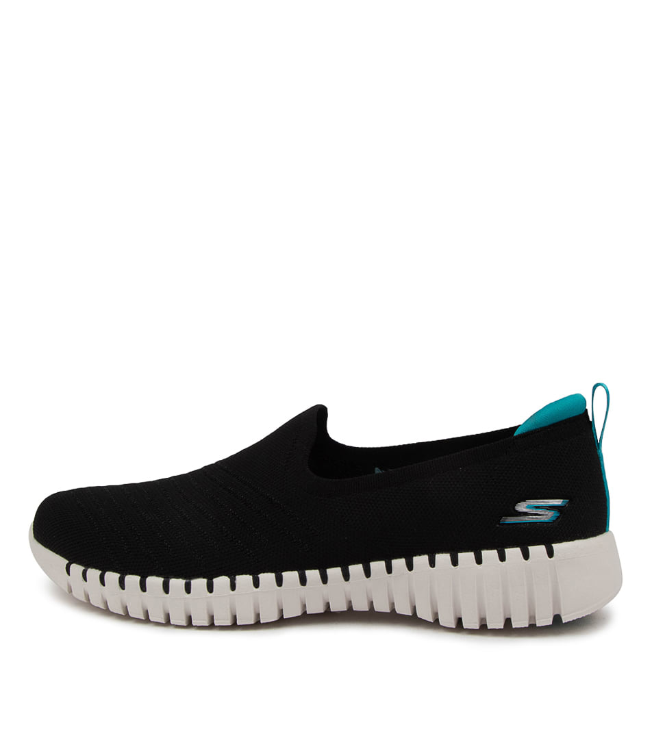 Buy Skechers 124315 Go Walk Smart Sk Black Turquoise Sneakers online with free shipping