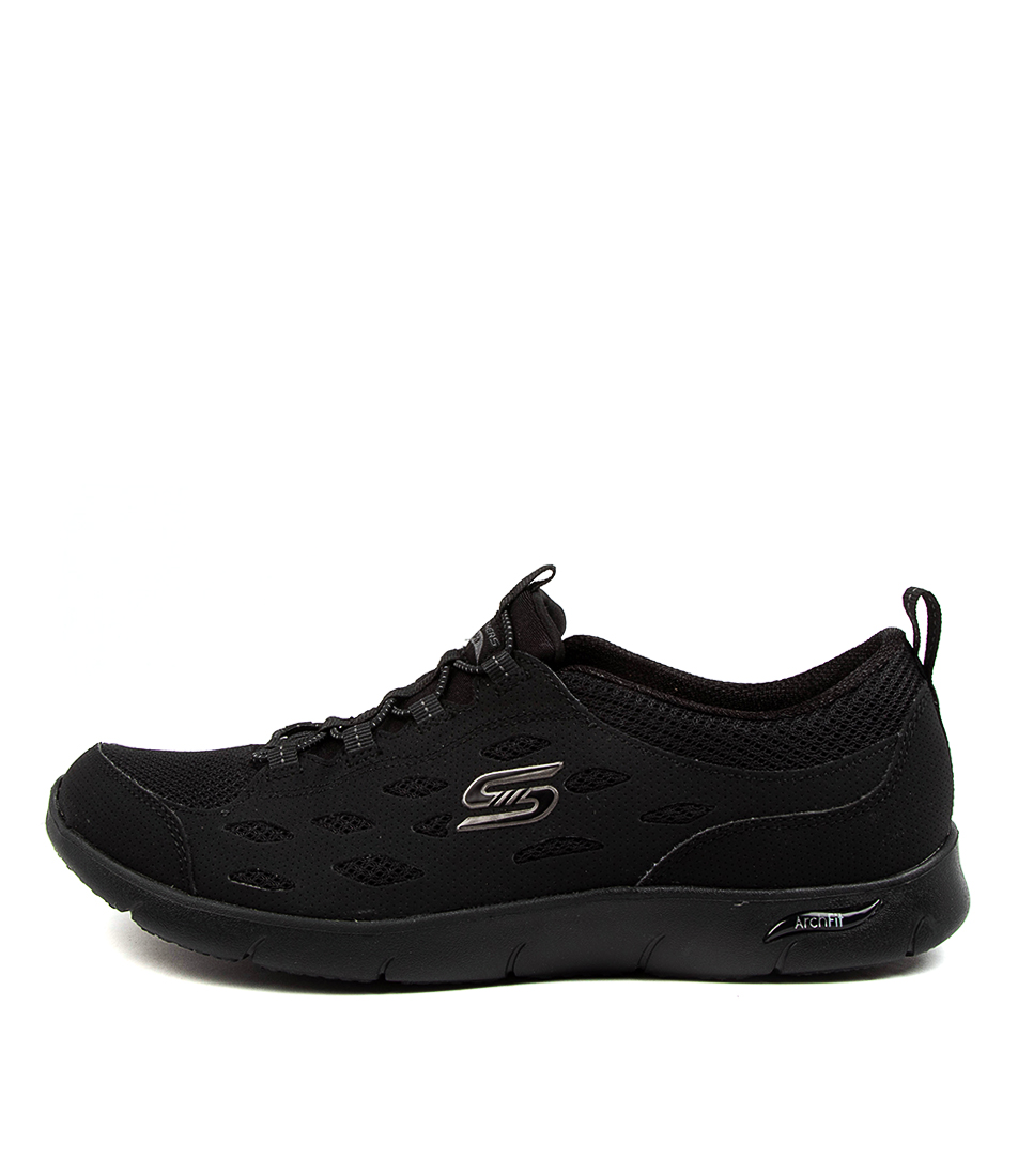 Buy Skechers 104163 Arch Fit Refine Sk Black Sneakers online with free shipping