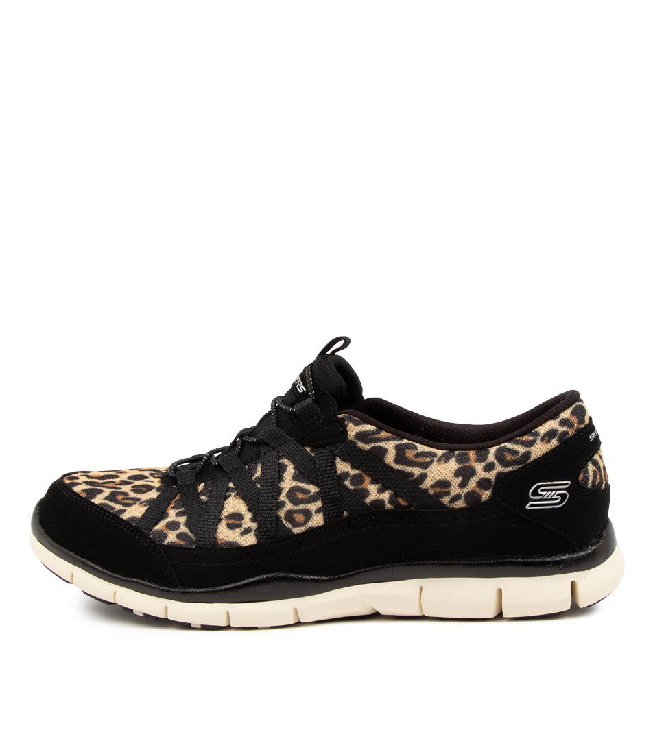 Buy Skechers 104009 Gratis Wild Vibes Sk Leopard Sneakers online with free shipping