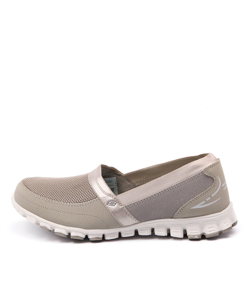 buy Skechers 22258 Ez Flex Taupe Sneakers shop Skechers Sneakers online