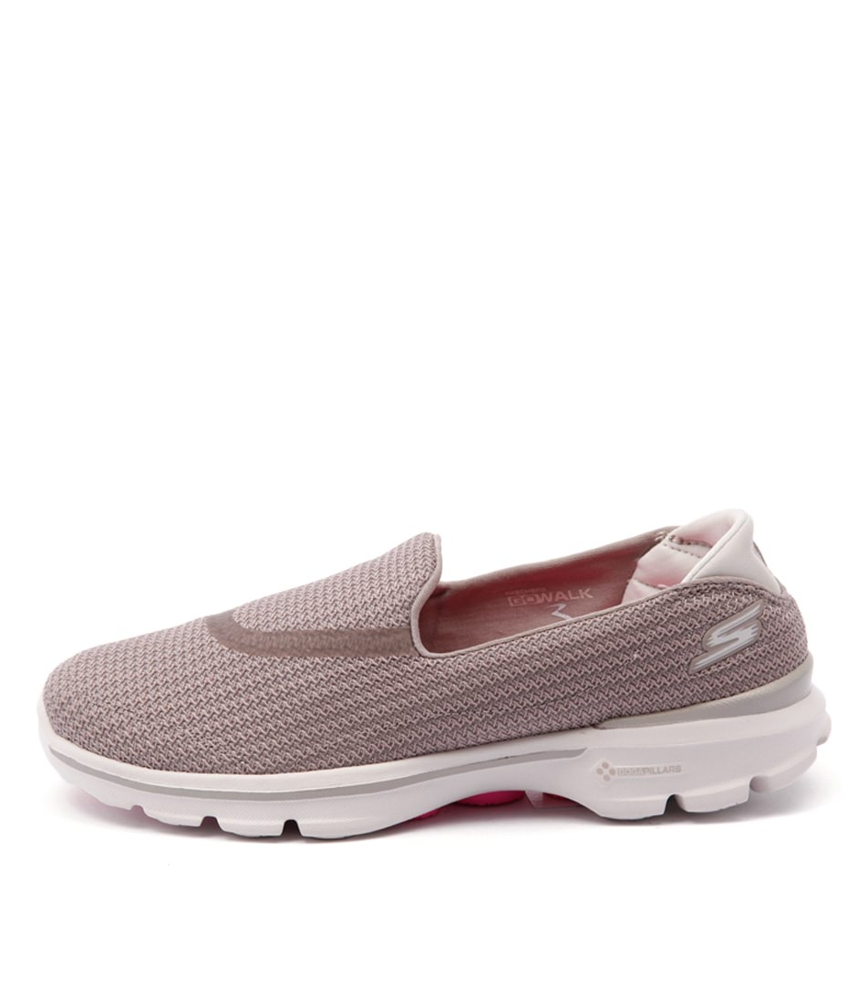 Skechers 13980 Go Walk 3 Stone Sneakers