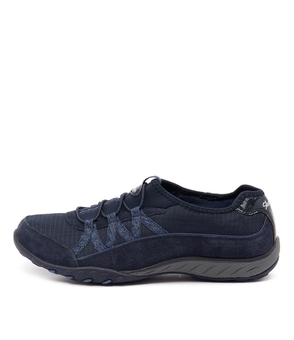 Skechers 22515 Breathe Easy Bigbreak Navy Sneakers
