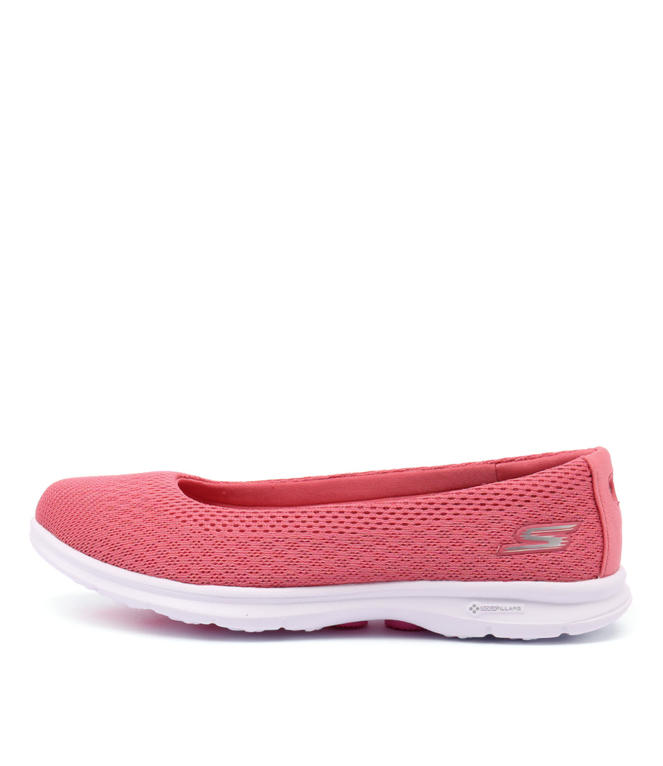 Skechers 14219 Go Step Primary Pink Sneakers