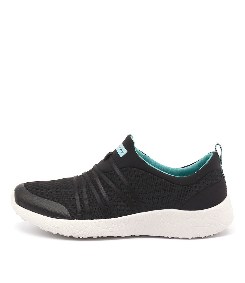 Skechers 12735 Burst Verydaring Black Turquoise Sneakers