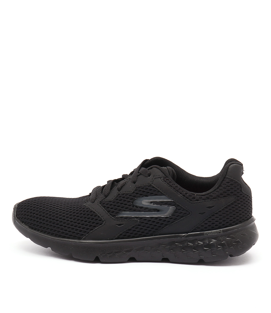 Skechers 14350 Go Run 400 Black Black Sneakers