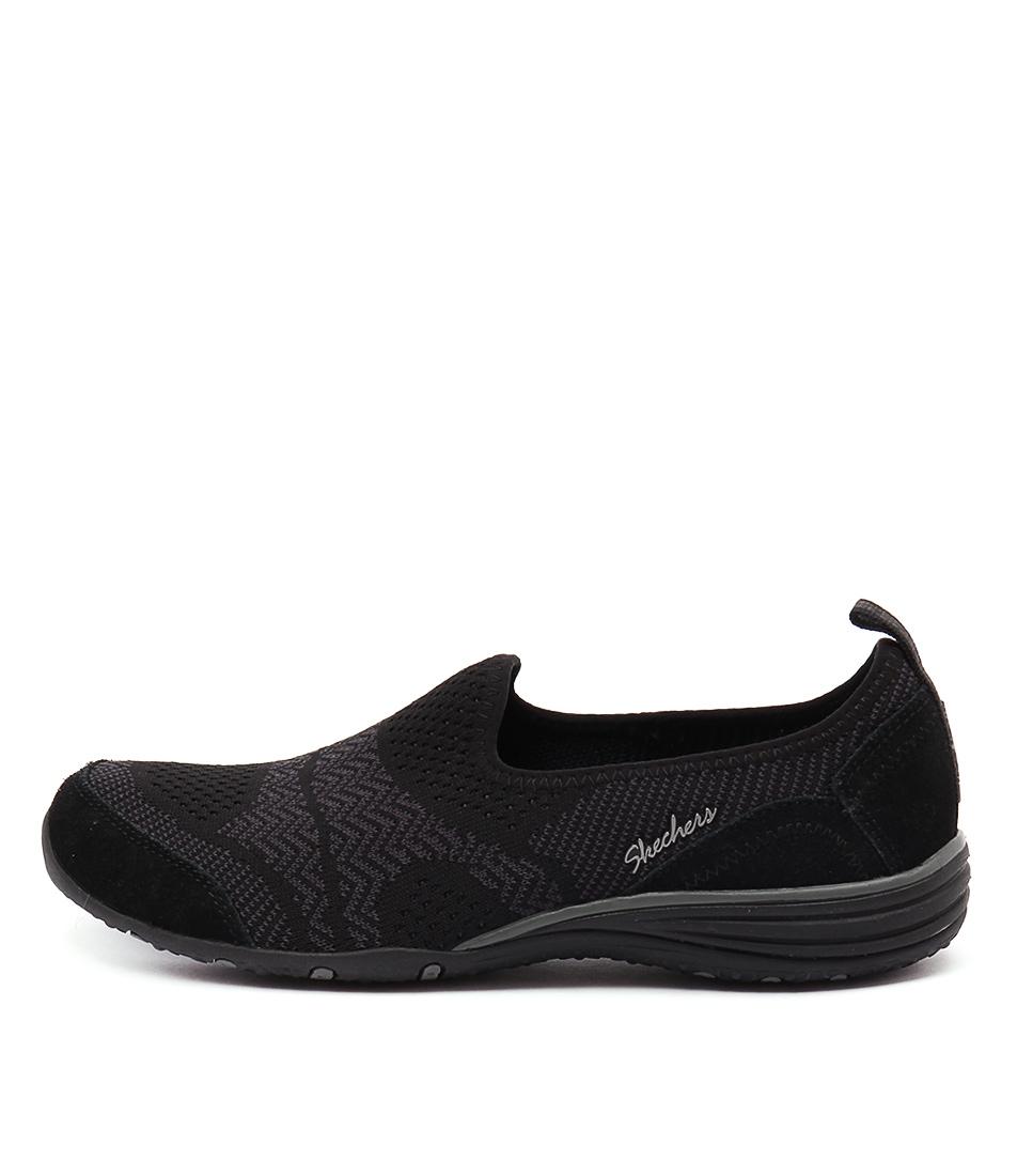 Skechers 23054 Unity Moonshadow Black Sneakers