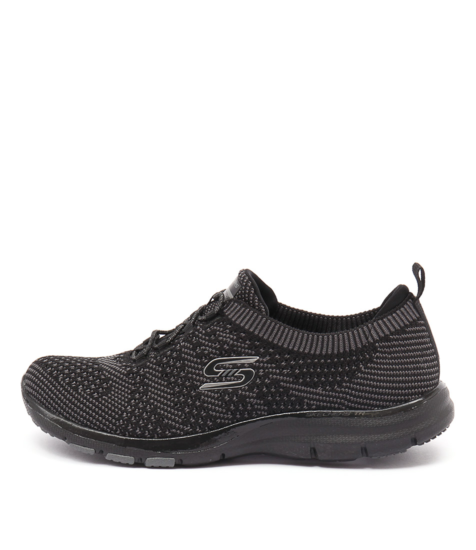 Skechers 22882 Galaxies Black Charcoal Sneakers