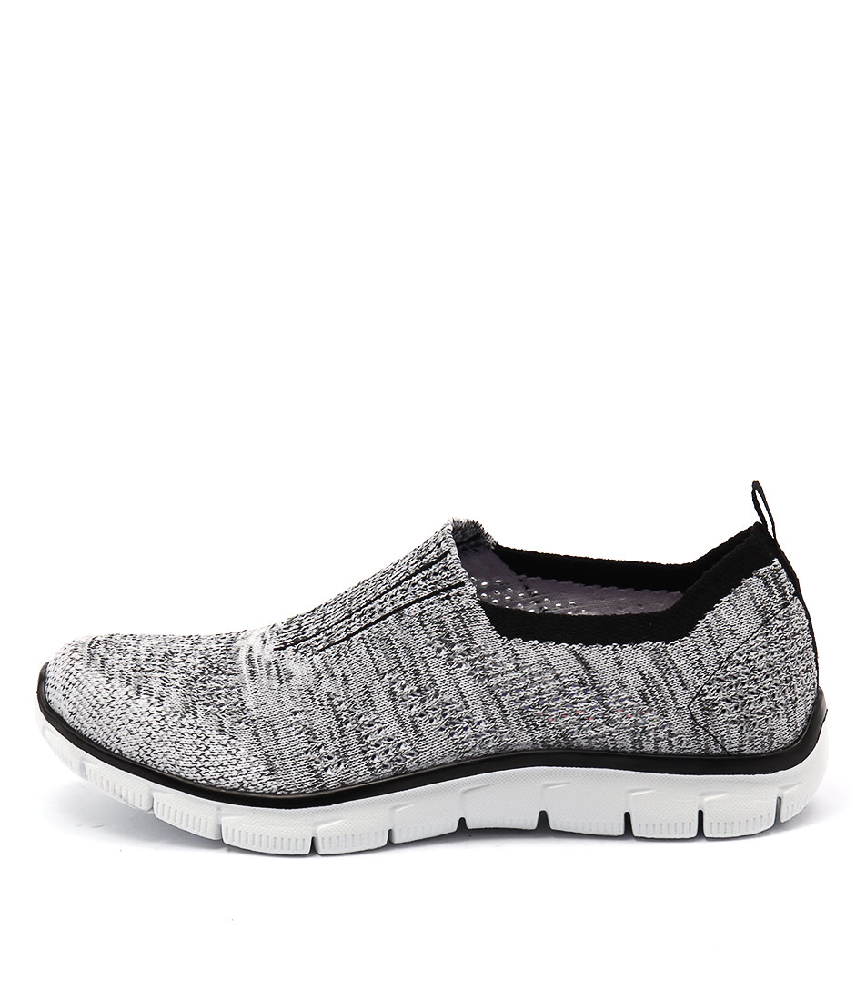 Skechers 12419 Empire Inside Look White Black Sneakers